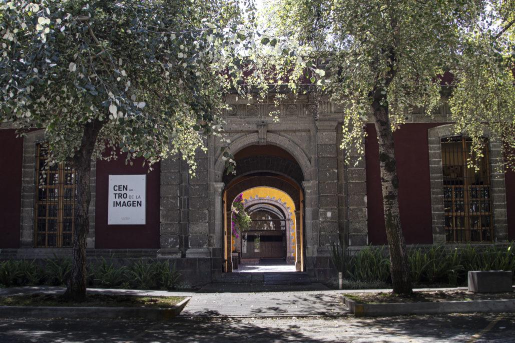Fachada del Centro de la Imagen, Ciudad de México. Cortesía del Centro de la Imagen