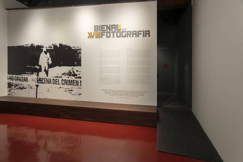 Entrada XVIII Bienal de Fotografía, 2018. Cortesía del Centro de la Imagen